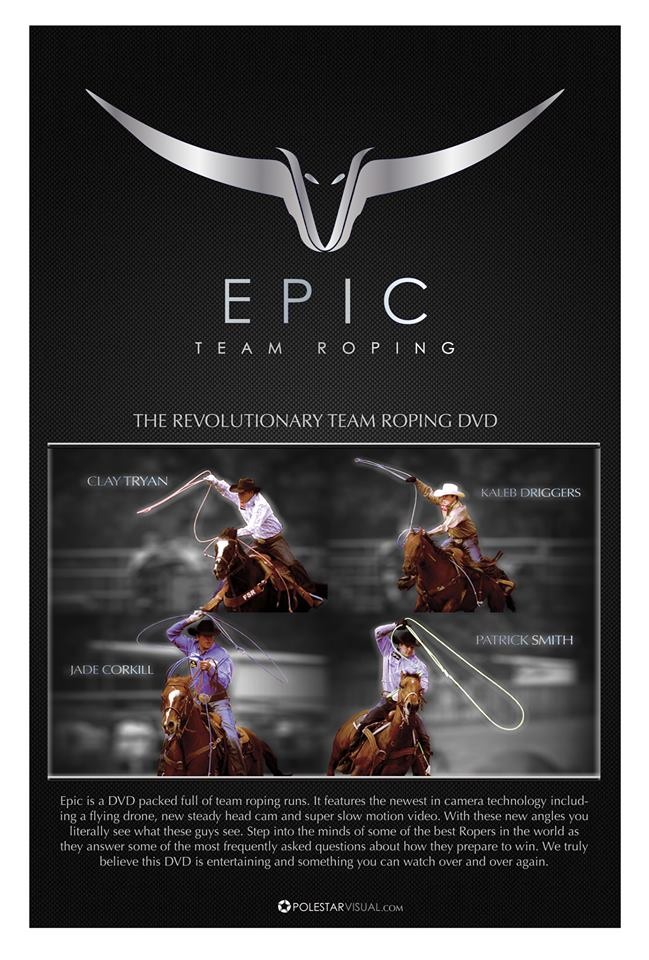 Epic Team Roping DVD Video